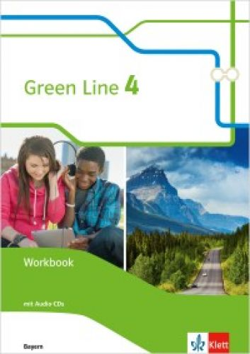 Green Line 4, Workbook m. Audio-CD (Ausgabe 2017, LehrplanPlus)