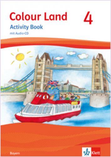 Colour Land 4, Activity Book mit Audio-CD