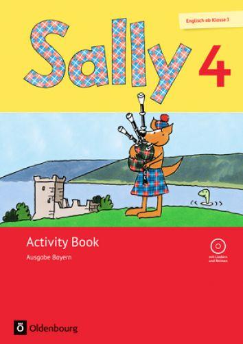 Sally 4 Activity Book mit Audio-CD und Portfolioheft