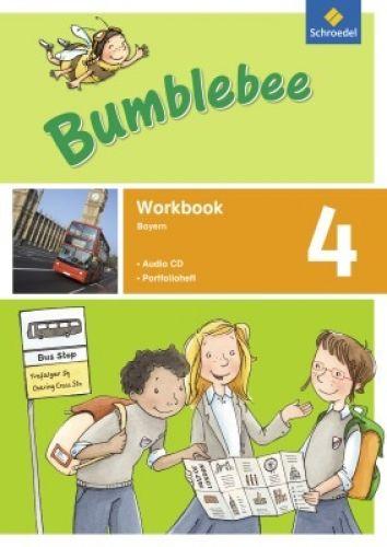 Bumblebee 4, Workbook mit CD und Portfolioheft
