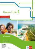 Green Line 5, Workbook m. Audio-CDs und Übungssoftware (Ausgabe ab 2017, LehrplanPlus)