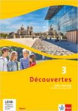 Decouvertes 3, Cahier m.CD/DVD (LehrplanPlus)