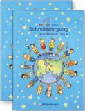 ABC der Tiere 1, Schreiblehrg. Druckschr. Teil A+B, LehrplanPlus