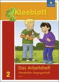 Kleeblatt 2, Arbeitsheft VA + Beilage Wörterkasten (2014)