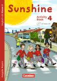 Sunshine 4 Activity Book m. Audio-CD und Minibildkarten