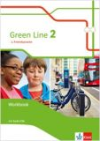 Green Line (2.FS) Band 2, Workbook m. Audio-CD (LehrplanPlus)