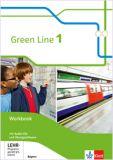 Green Line 1, Workbook m. Audio-CDs und Übungssoftware (Ausgabe 2017, LehrplanPlus)