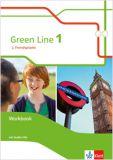 Green Line (2.FS) Band 1, Workbook m. Audio-CD (LehrplanPlus)