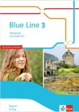 Blue Line 3 M-Zug, Workbook m.CD (LehrplanPlus)
