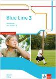 Blue Line 3 R-Zug, Workbook m.CD (LehrplanPlus)